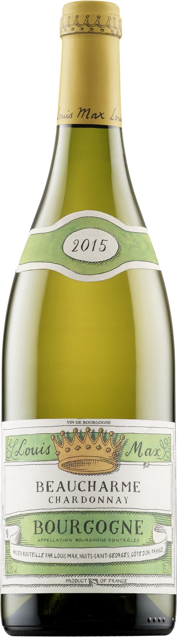 Louis Max Beaucharme Chardonnay 2015