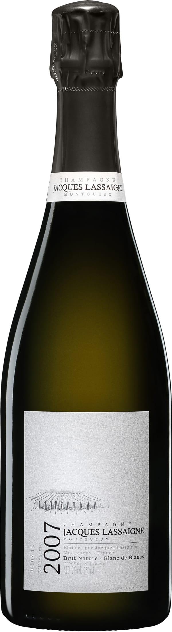 Jacques Lassaigne Blanc de Blancs Millésime Champagne Brut Nature 2007