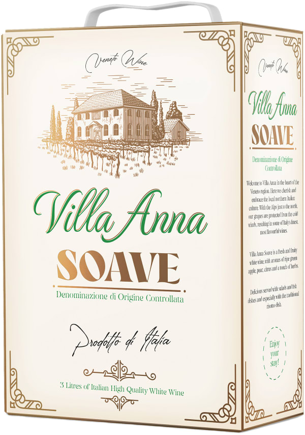 Villa Anna Bianco hanapakkaus