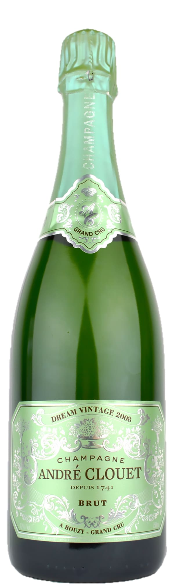 André Clouet Dream Vintage Grand Cru Champagne Brut 2008