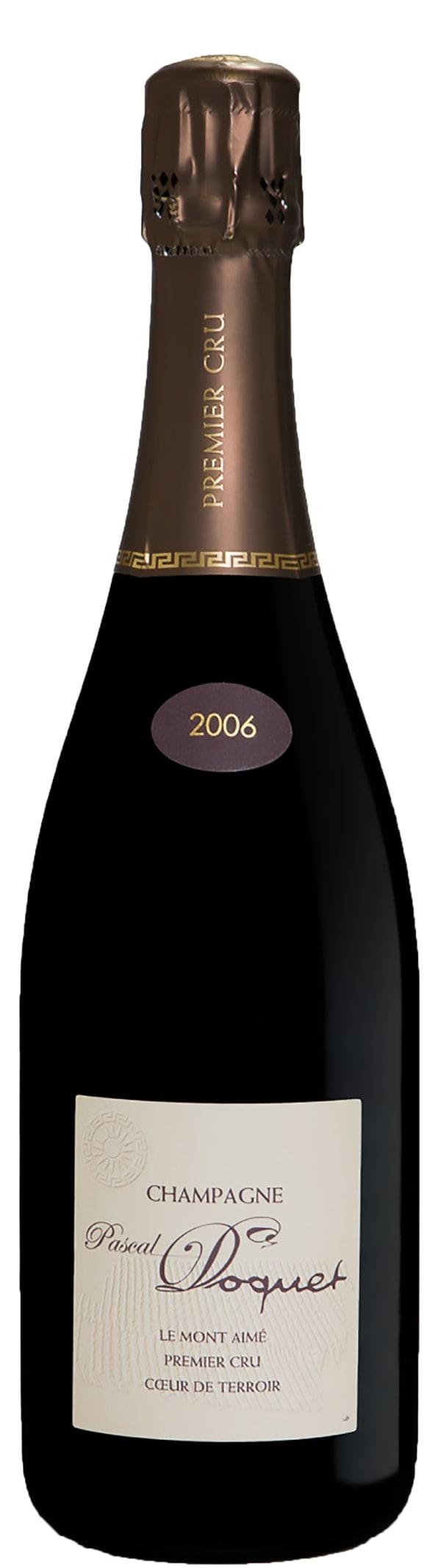 Pascal Doquet Coeur de Terroir Le Mont Aimé 1er Cru Champagne Brut 2006