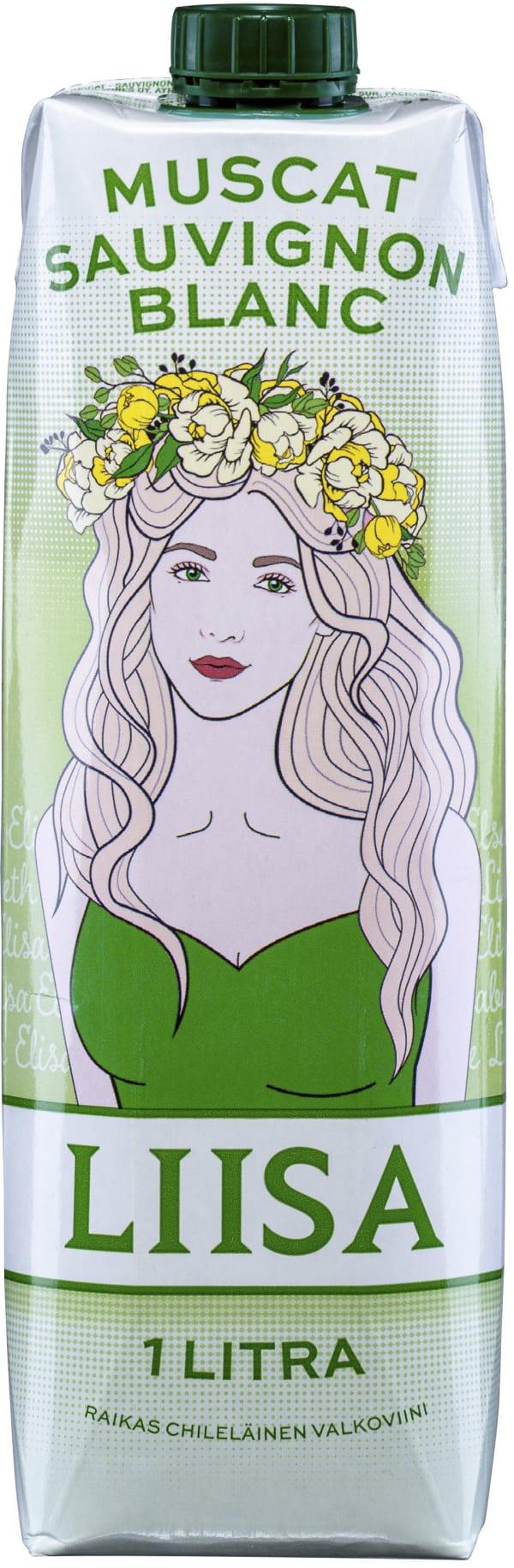 Liisa Sauvignon Blanc Muscat kartongförpackning