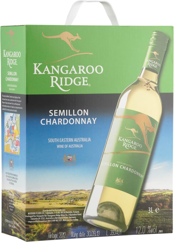 Kangaroo Ridge Semillon Chardonnay 2015 hanapakkaus