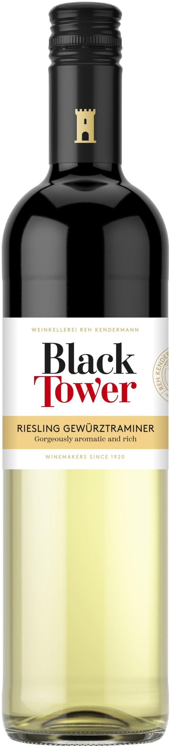 Black Tower Riesling Gewürztraminer 2016
