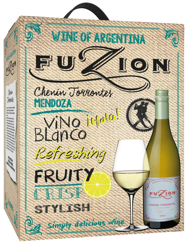 Fuzion Chenin Torrontes 2015 bag-in-box