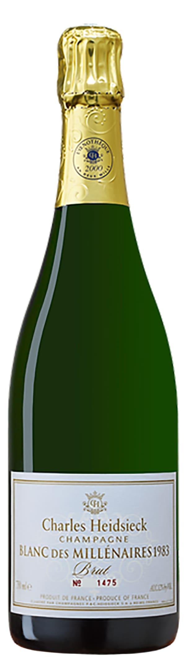 Charles Heidsieck Blanc des Millenaires Champagne Brut 1983