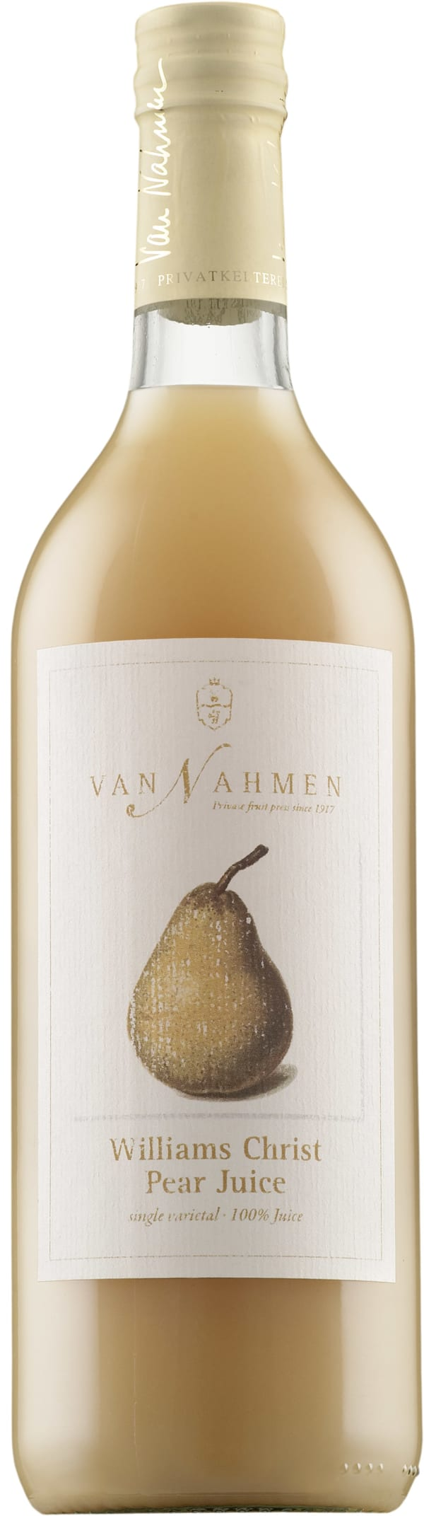 Van Nahmen Williams Christ Pear Juice