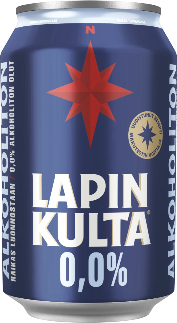 Lapin Kulta Arctic Malt Alkoholiton  tölkki