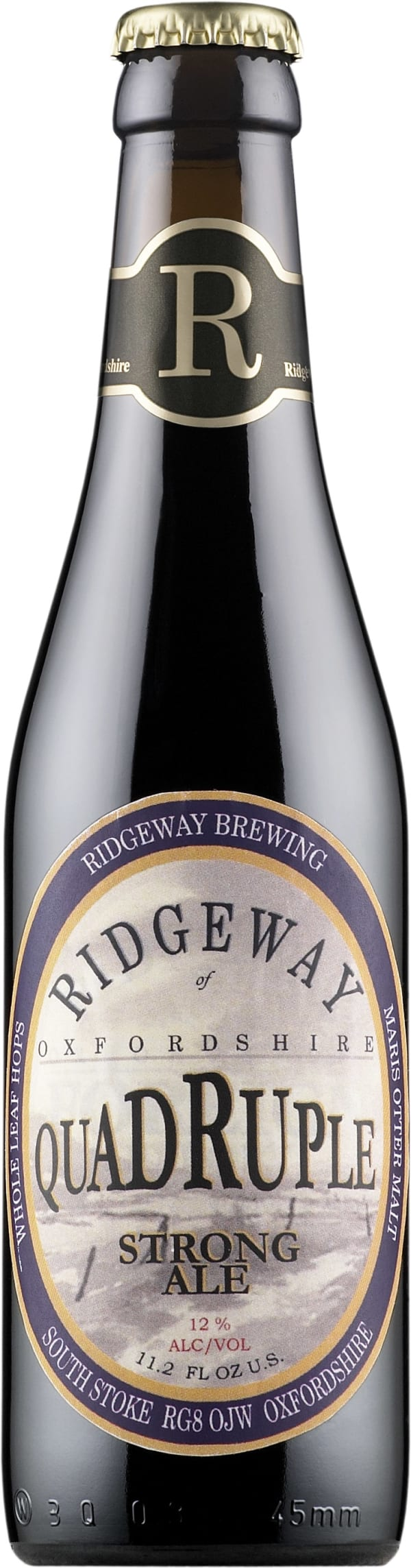 Ridgeway Quadruple Strong Ale