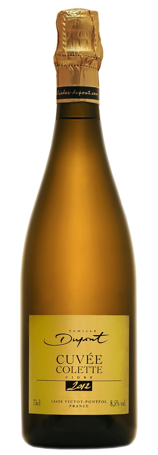 Dupont Cidre Cuvée Colette 2012