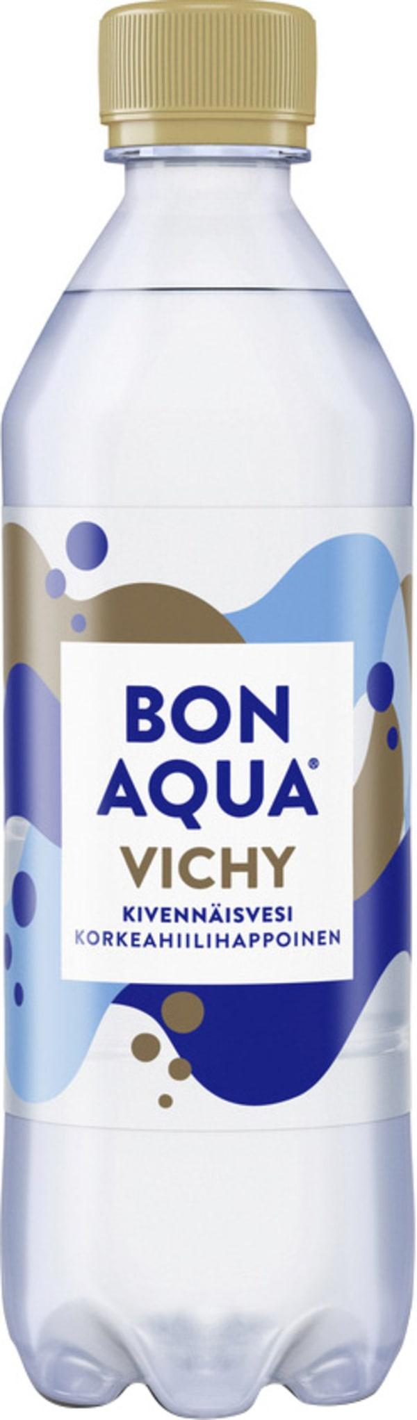 Bonaqua Vichy muovipullo