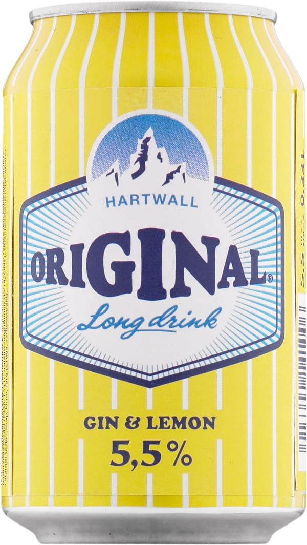 Original Long Drink Gin & Lemon  tölkki