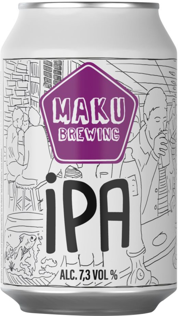 Maku Brewing IPA burk