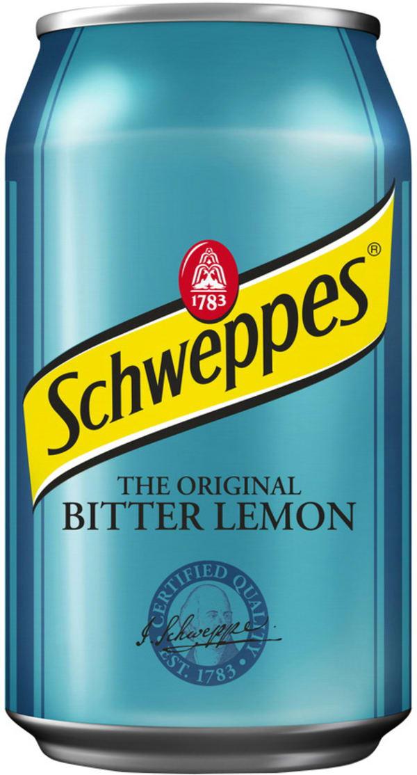 Schweppes Bitter Lemon  can