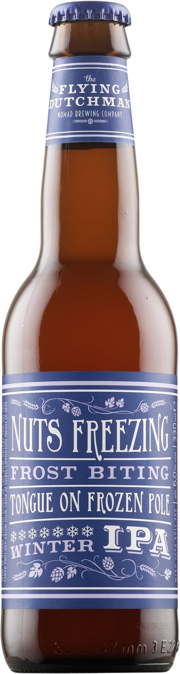 Flying Dutchman Nuts Freezing Frost Biting Tongue on Frozen Pole IPA