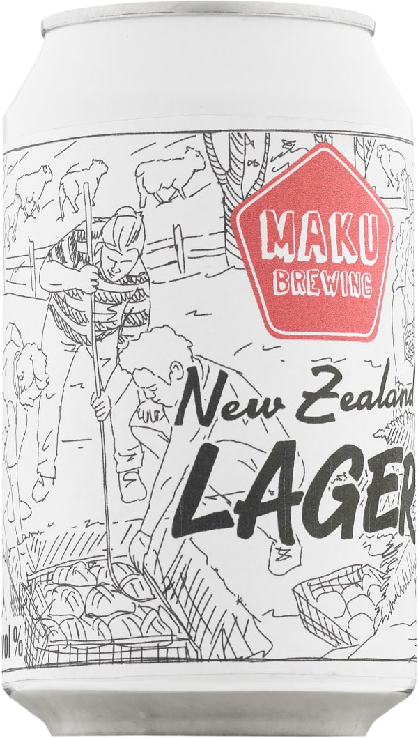 Maku Brewing New Zealand Lager  tölkki