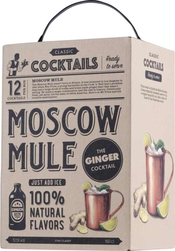 Classic Cocktail Moscow Mule bag-in-box