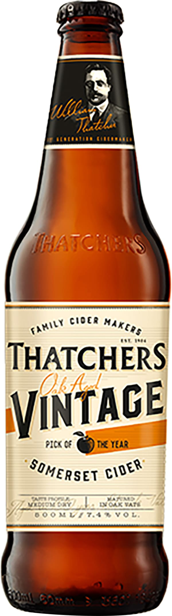 Thatchers Vintage Oak Aged Somerset Cider 2016