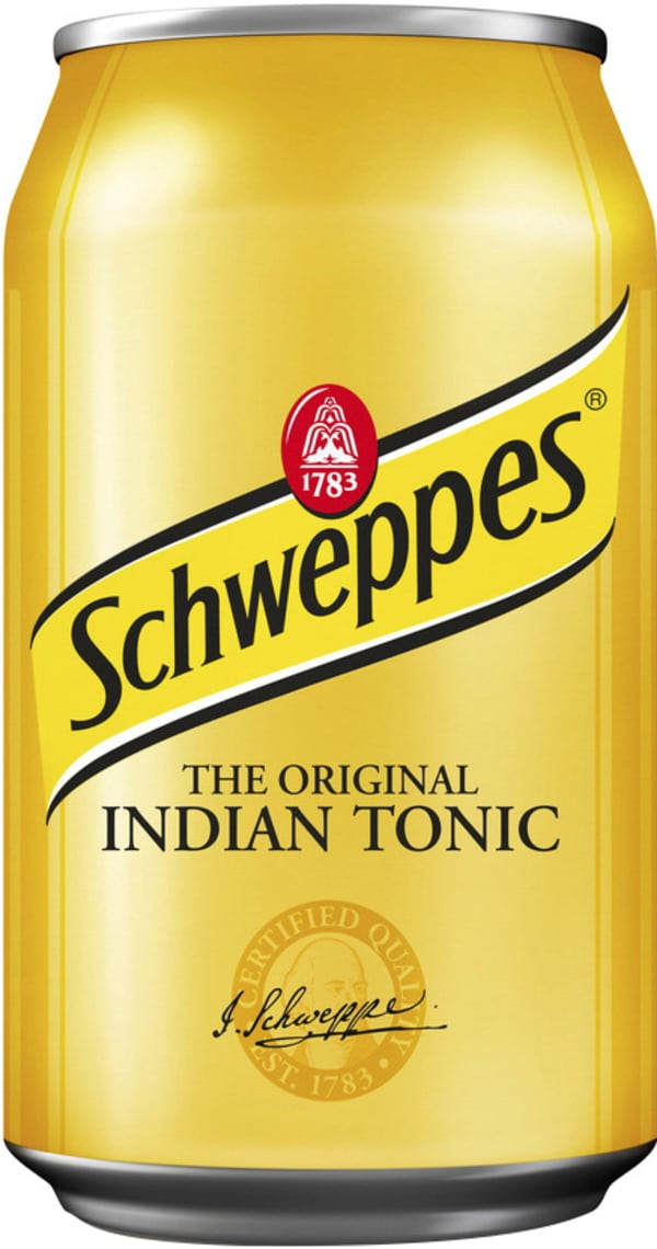 Schweppes Indian Tonic Water  can