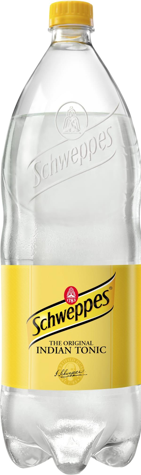 Schweppes Indian Tonic Water plastic bottle