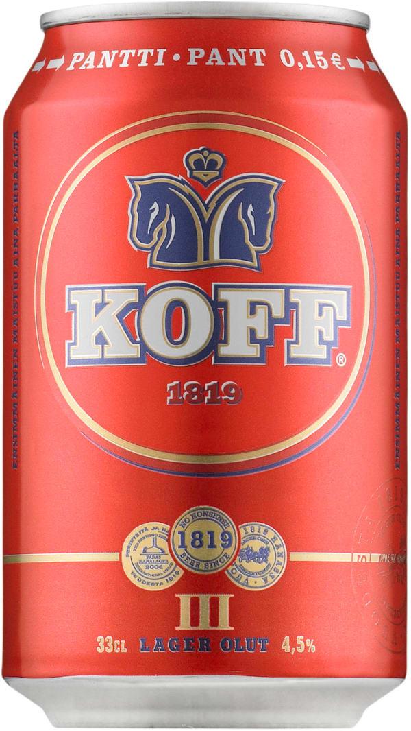 Koff III  tölkki