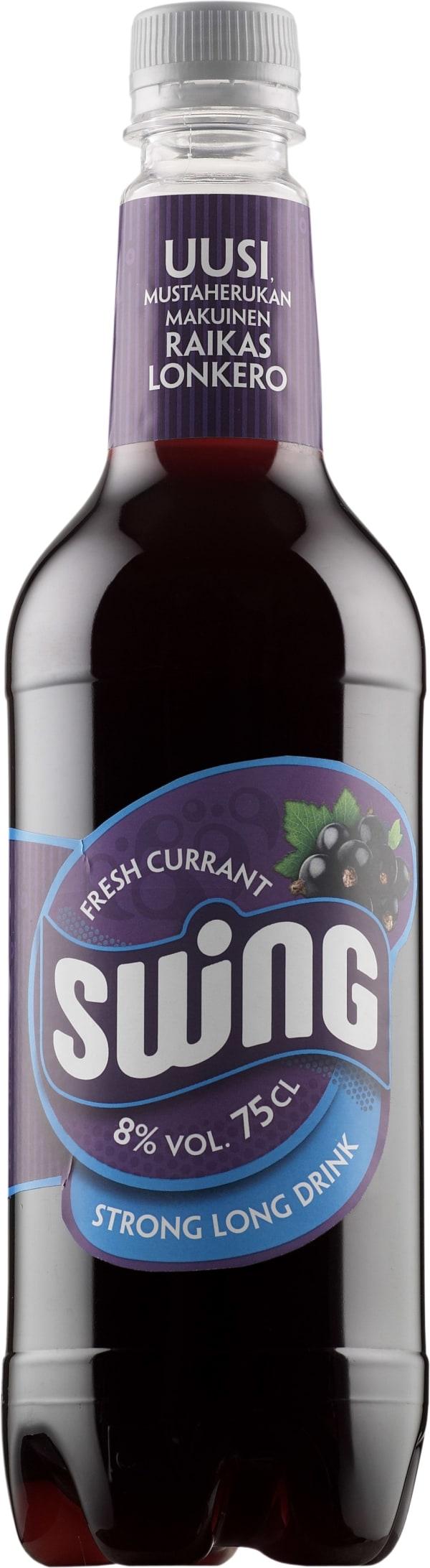 Swing Fresh Currant Strong Long Drink plastflaska