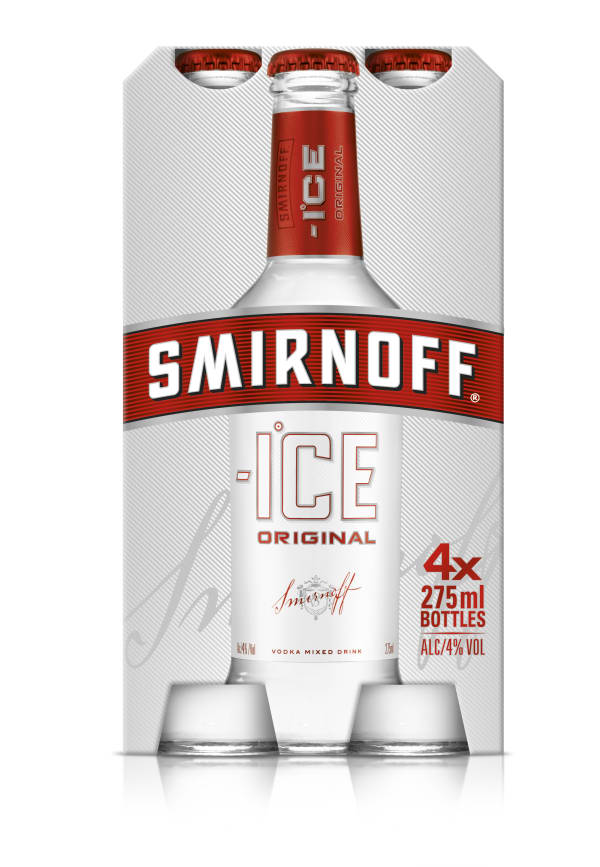 Smirnoff Ice 4-pack  pullo
