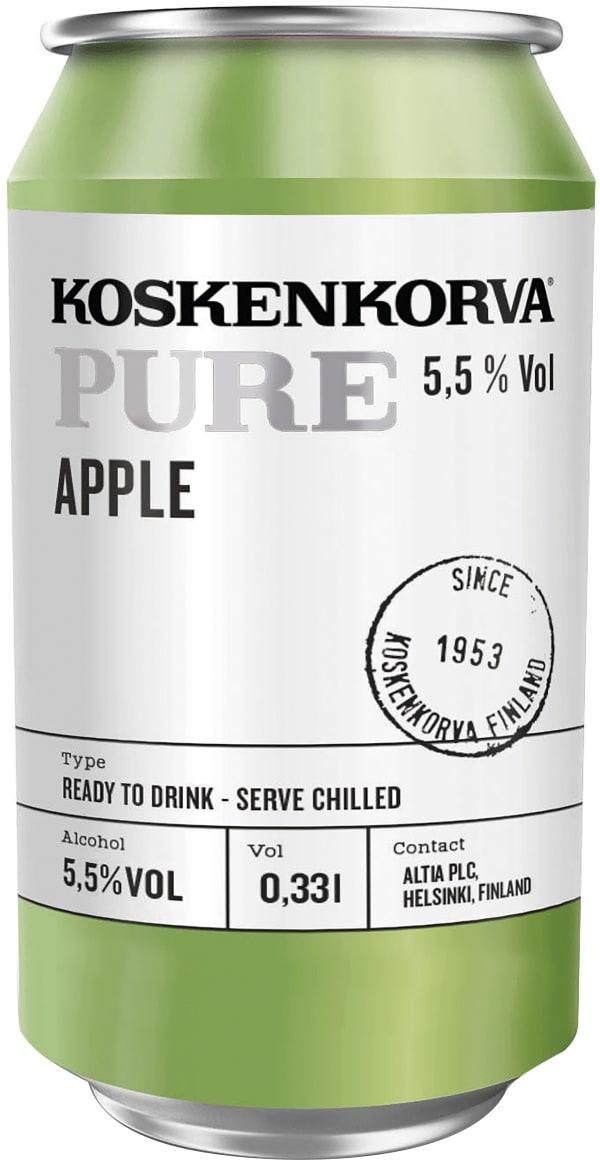 Koskenkorva Pure Apple burk