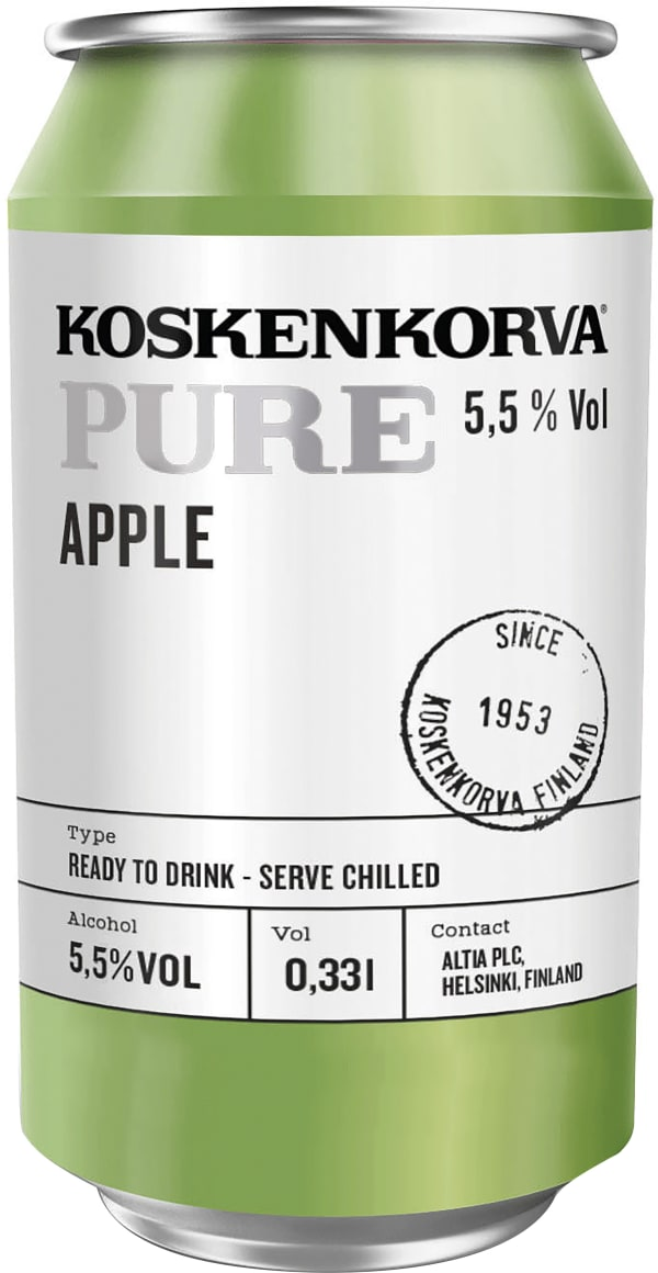 Koskenkorva Pure Apple can