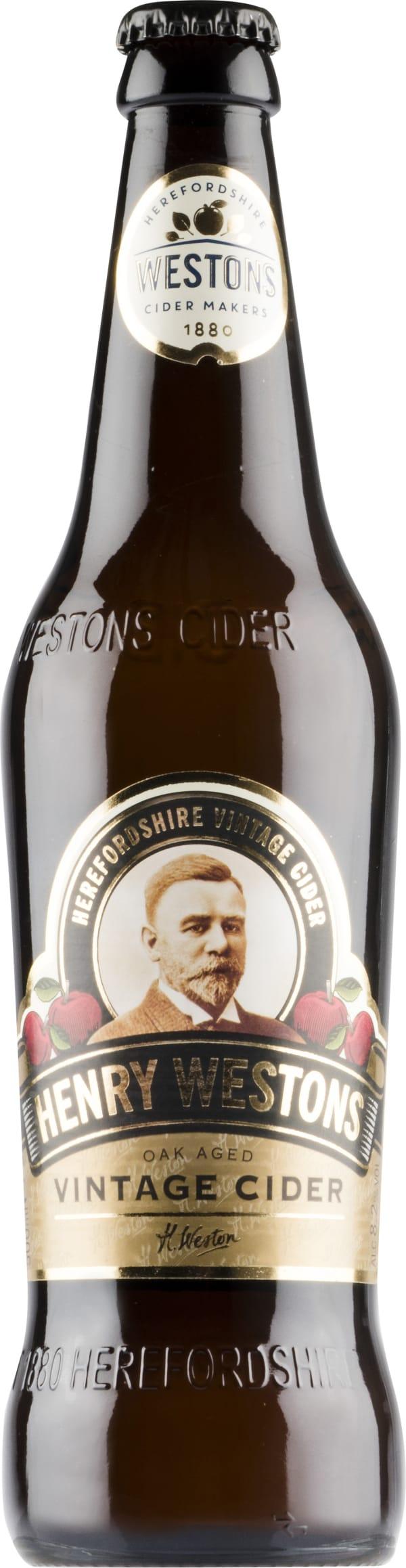 Henry Westons Vintage Cider 2016