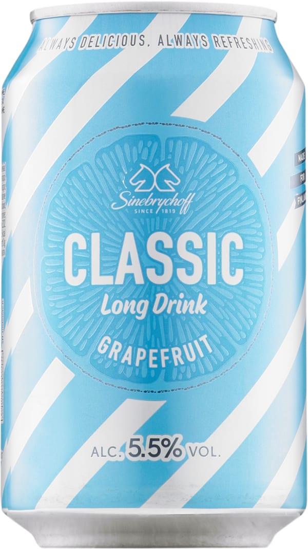 Sinebrychoff Long Drink Grapefruit can