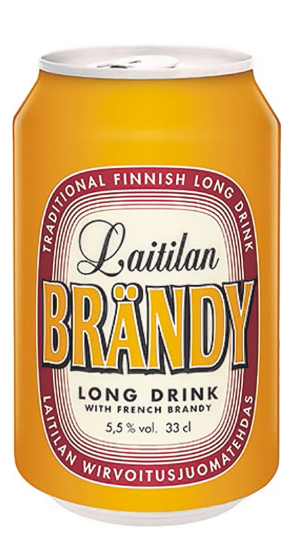 Laitilan Brändy Long Drink can