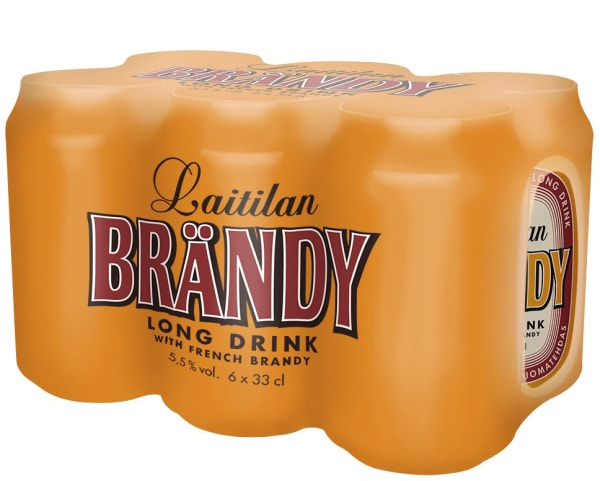 Laitilan Brändy Long Drink 6-pack burk