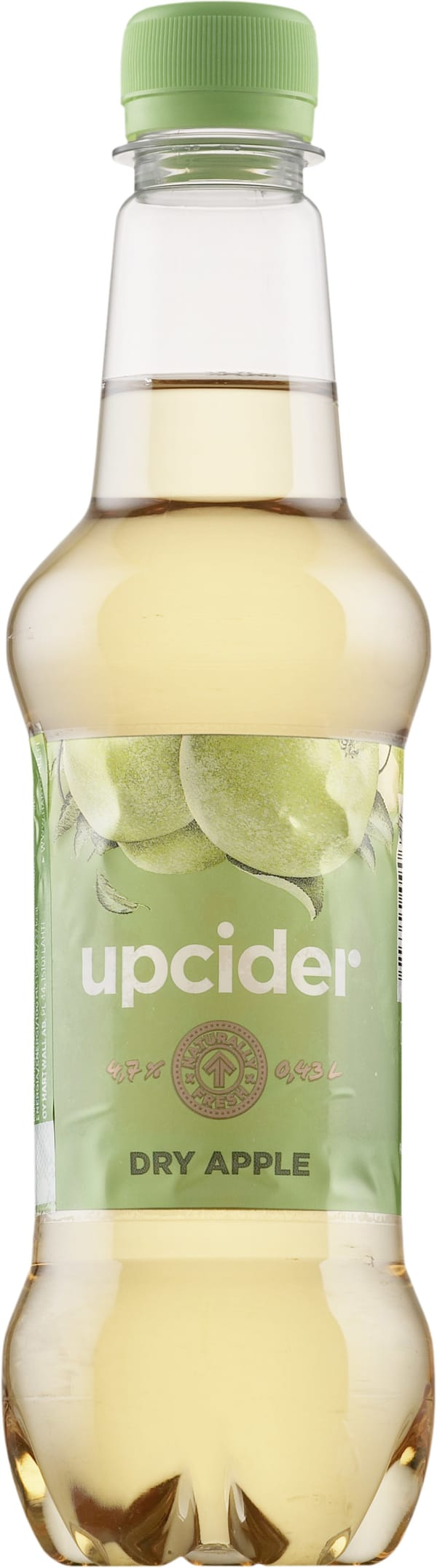 Upcider Dry Apple  muovipullo