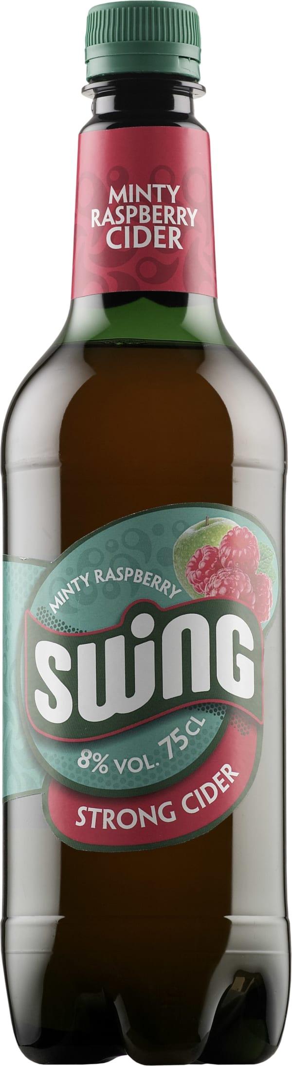 Swing Minty Raspberry Strong Cider plastic bottle