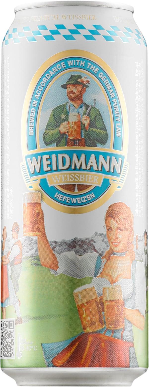 Weidmann Weissbier Hefeweizen  can