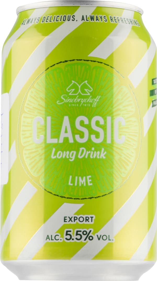 Sinebrychoff Long Drink Lime burk