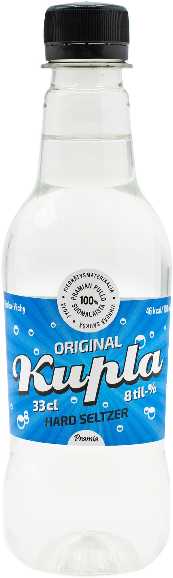 Kupla Maustamaton Lonkero plastic bottle