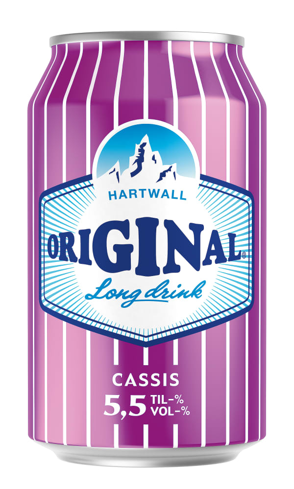 Original Long Drink Cassis can