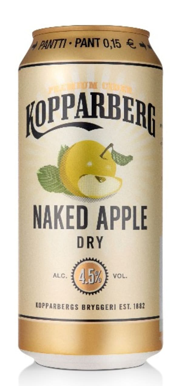 Kopparberg Naked Apple Dry  tölkki
