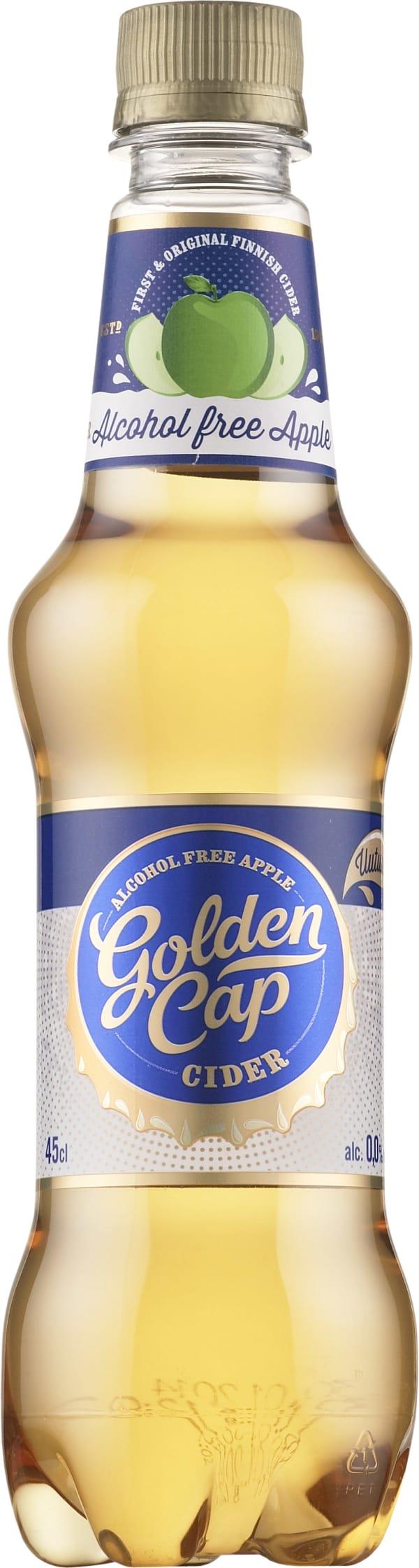 Golden Cap Alcohol Free Apple Cider  plastic bottle