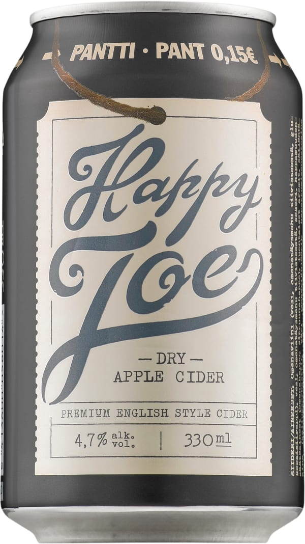 Happy Joe Dry Apple Cider  tölkki