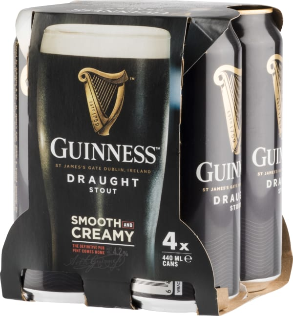 Guinness Draught 4-Pack  can