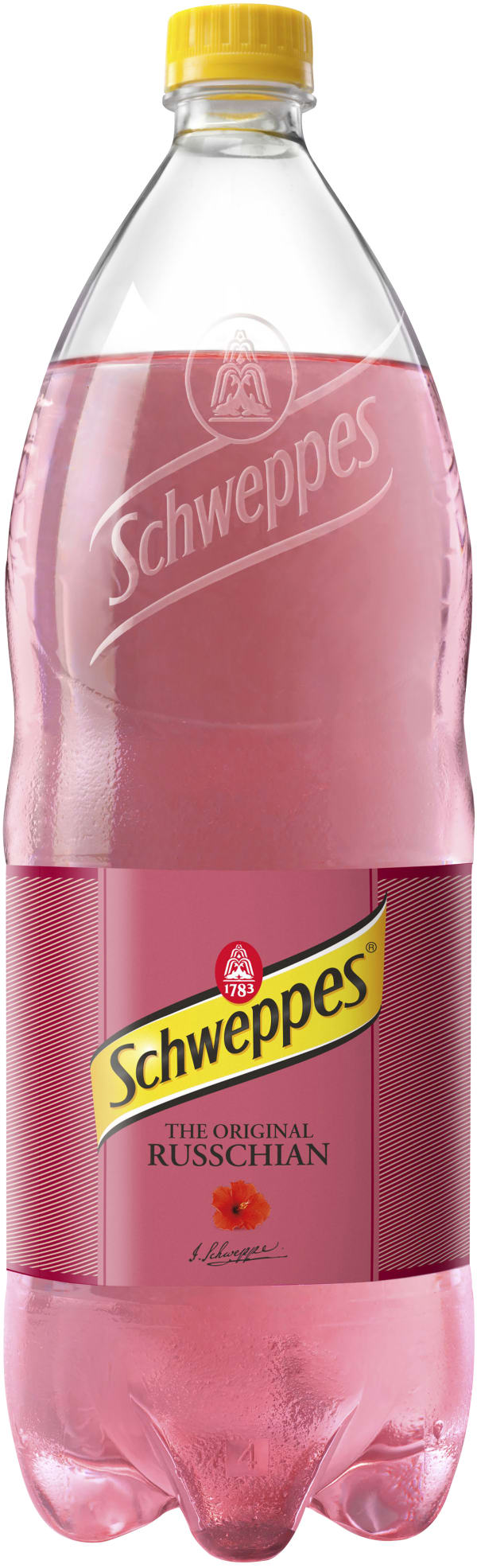 Schweppes Russchian plastic bottle