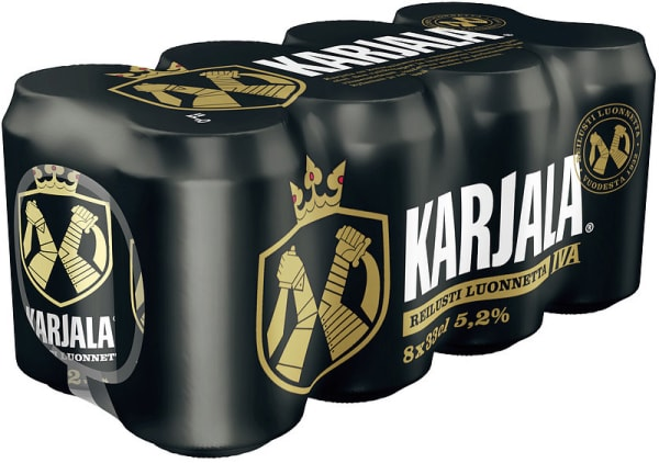 Karjala IV A 8-pack can