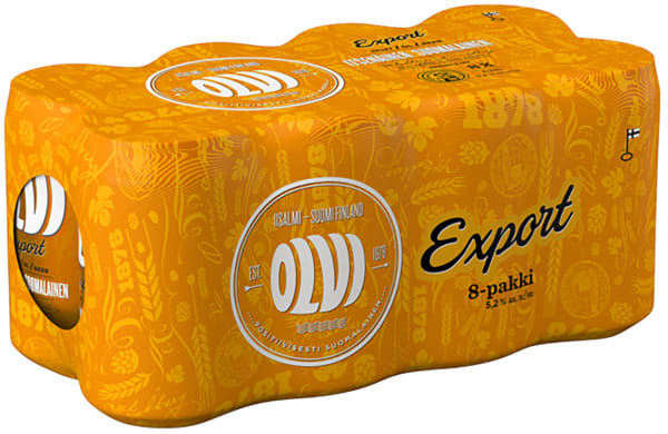 Olvi Export A 8-pack burk