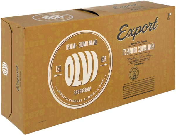 Olvi Export A 18-pack can