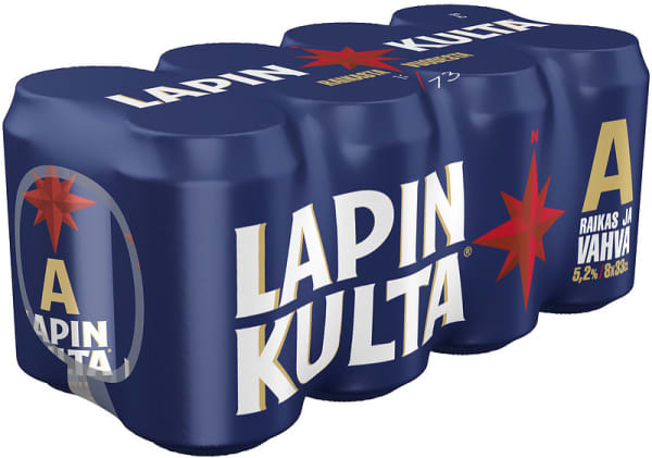 Lapin Kulta A 8-pack  can