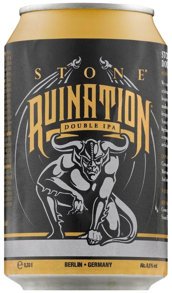 Stone Ruination Double IPA 2.0  tölkki