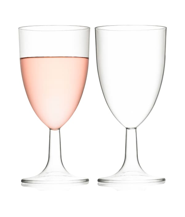 Wine glass (1 pc), plastic